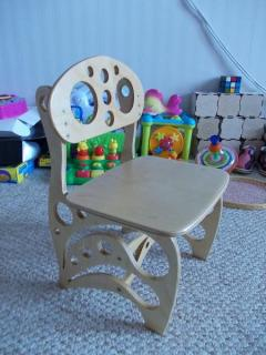 Children's chair own hands (drawings dwg)